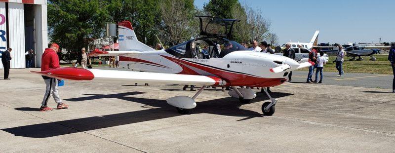 FADA estuvo en Sunchales, Santa Fe, en la presentación del avión WAMAN.