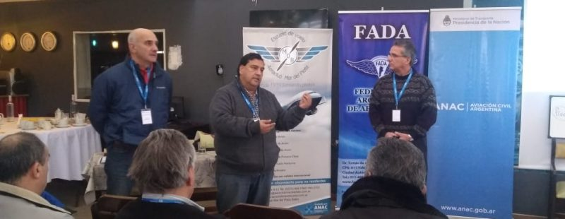 FADA, colaboró con ANAC en el Taller para IIVV en el AC Mar del Plata.