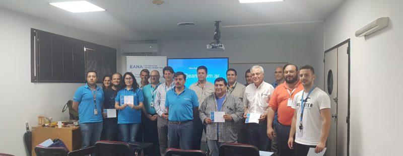 Integrantes de FADA, participaron invitados al curso de Supervivencia organizado por la Gerencia SAR-EANA.