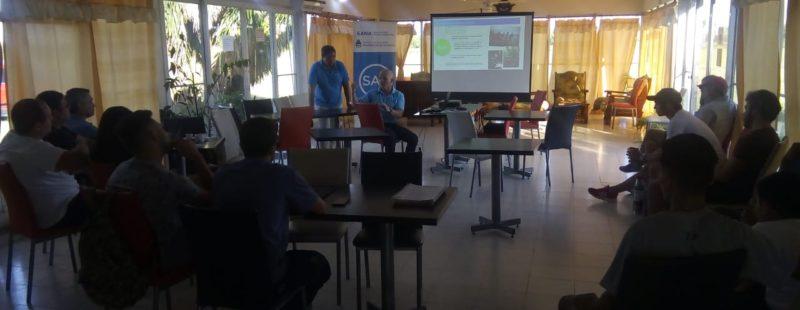 Nuestra afiliada, AC Córdoba, sede del taller Búsqueda y Salvamento.