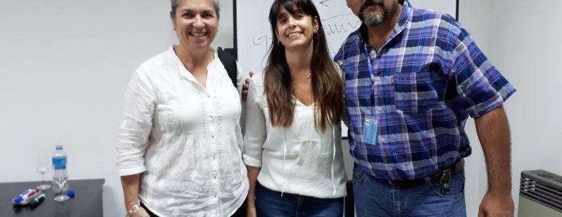 Nuestra afiliada AC Huinca Renancó (CBA) sede de una charla más que interesante. La Desorientación Espacial.