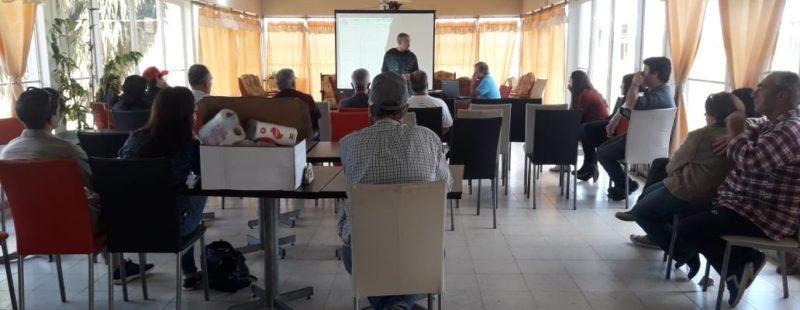 Seminario informativo del INMAE en el AC Córdoba.