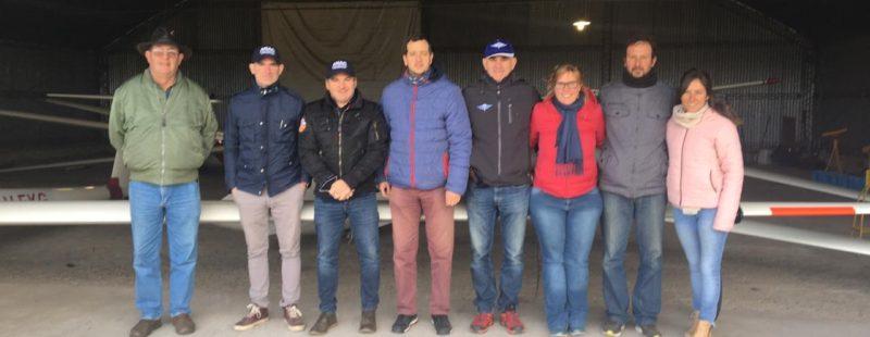 ANAC, con el acompañamiento de CADEA y FADA, de visita al interior bonaerense. Asociación Aeronáutica Azul.