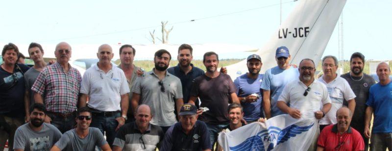Integrantes de FADA, se reunieron con Aeroclubes de la costa atlántica, nucleados en ASASBO.