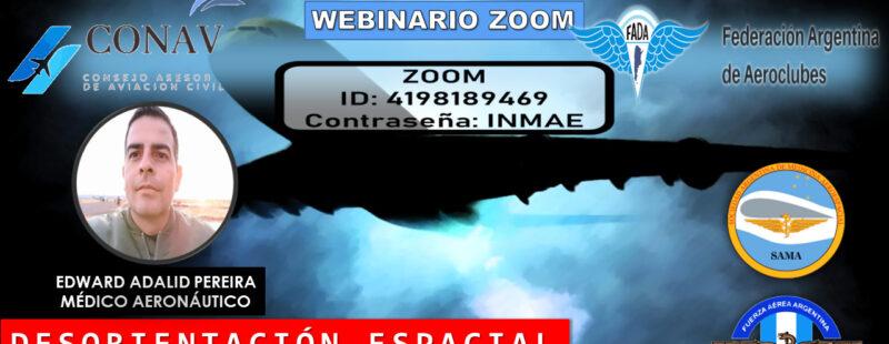 """Capacitación SAMA. Cuarto webinar: """"Visibilidad cero"""""""