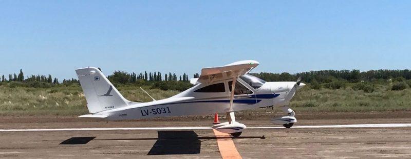 Se iniciaron las Competencias ADP/2017, en el Aeroclub General Alvear, Mendoza.