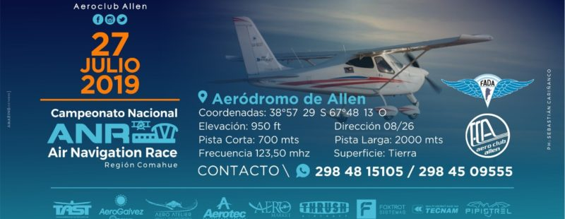El AC Allen (RN) completa su fecha de competencia con el ANR FADA 2019.