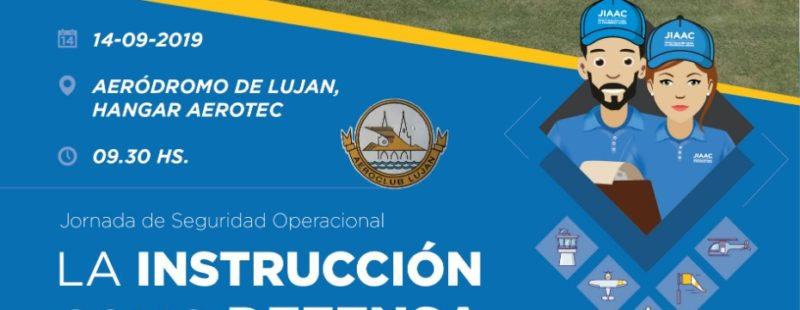 Atención Aeroclubes zona Luján. Taller JIAAC.