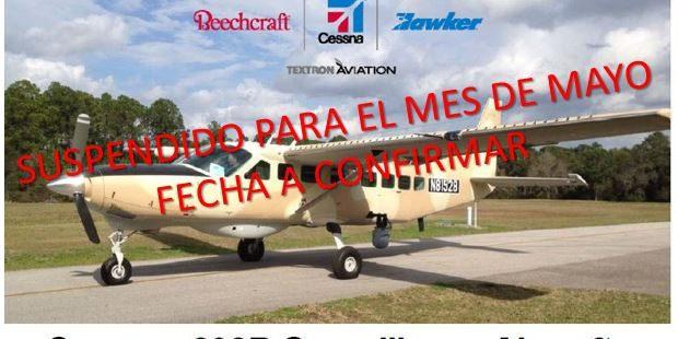 AVIASER S.A. invita a la demo del Cessna Gran Caravan 208B